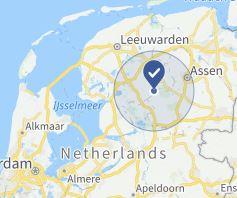 werkgebied schoorsteenveger drenthe, groningen, friesland